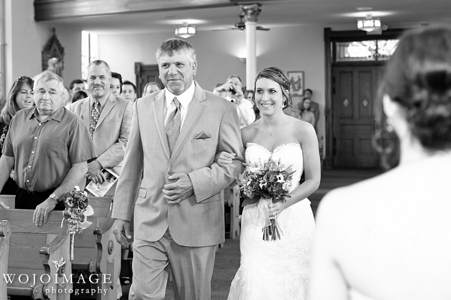 St. Peter's Church Slinger, WI Wedding