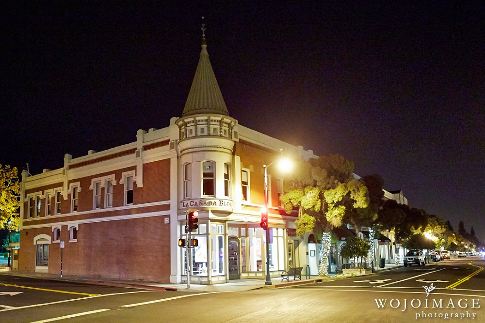 Downtown Los Gatos at Night
