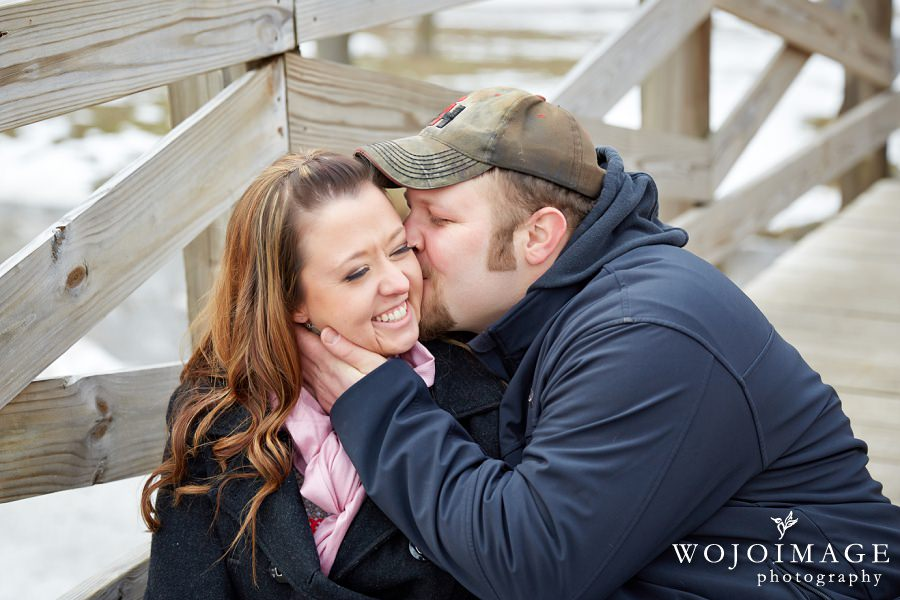 Winter Engagement Session Photos