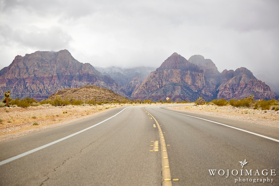 Drive to Red Rock Canyon in Nevada