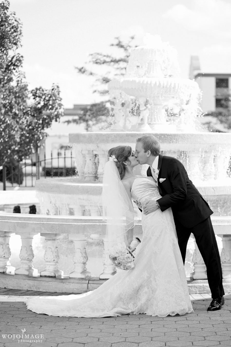 Fountain Blue Illinois Wedding