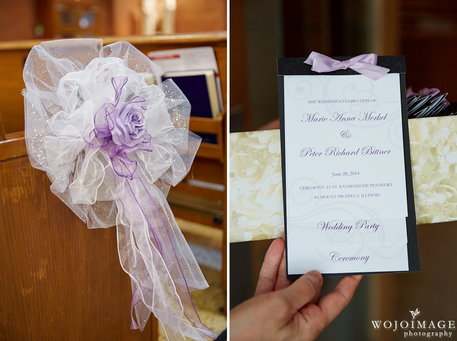 St. Raymond Parish in Mount Prospect, Illinois Wedding