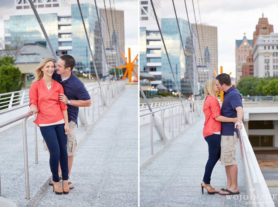 Milwaukee Art Museum Engagement Photos