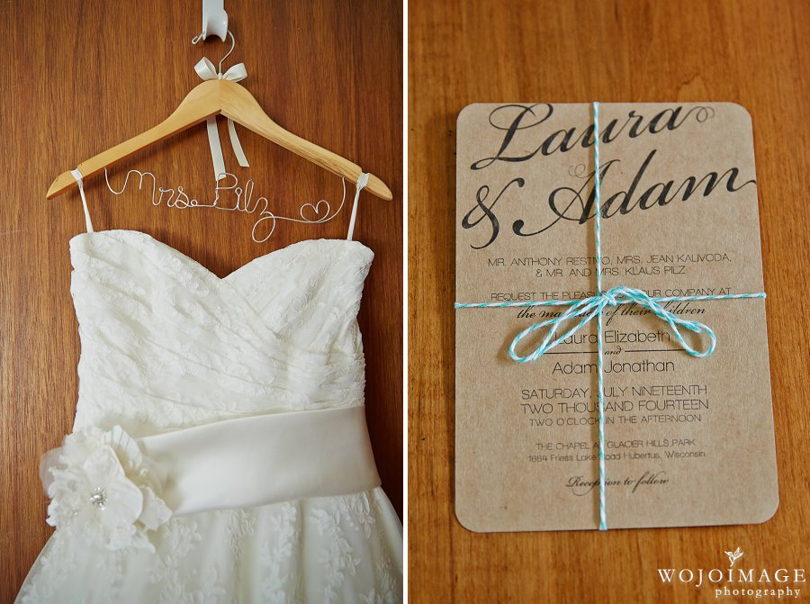 Rustic Themed Wisconsin Wedding