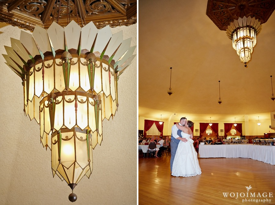 Chandelier Ballroom Hartford Wedding