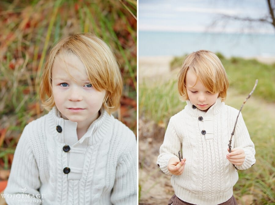 Gillson Park Wilmette Kid's Photo Shoot