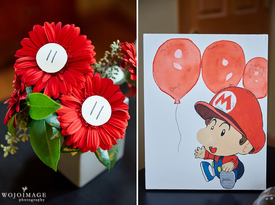 Mario Brothers Baby Shower