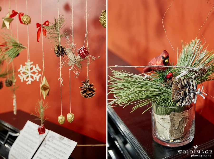 Modern Rustic Christmas Party