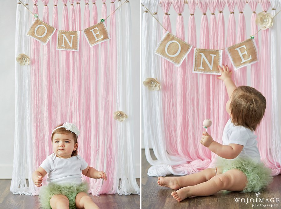 One Year Old Girl Birthday Photos