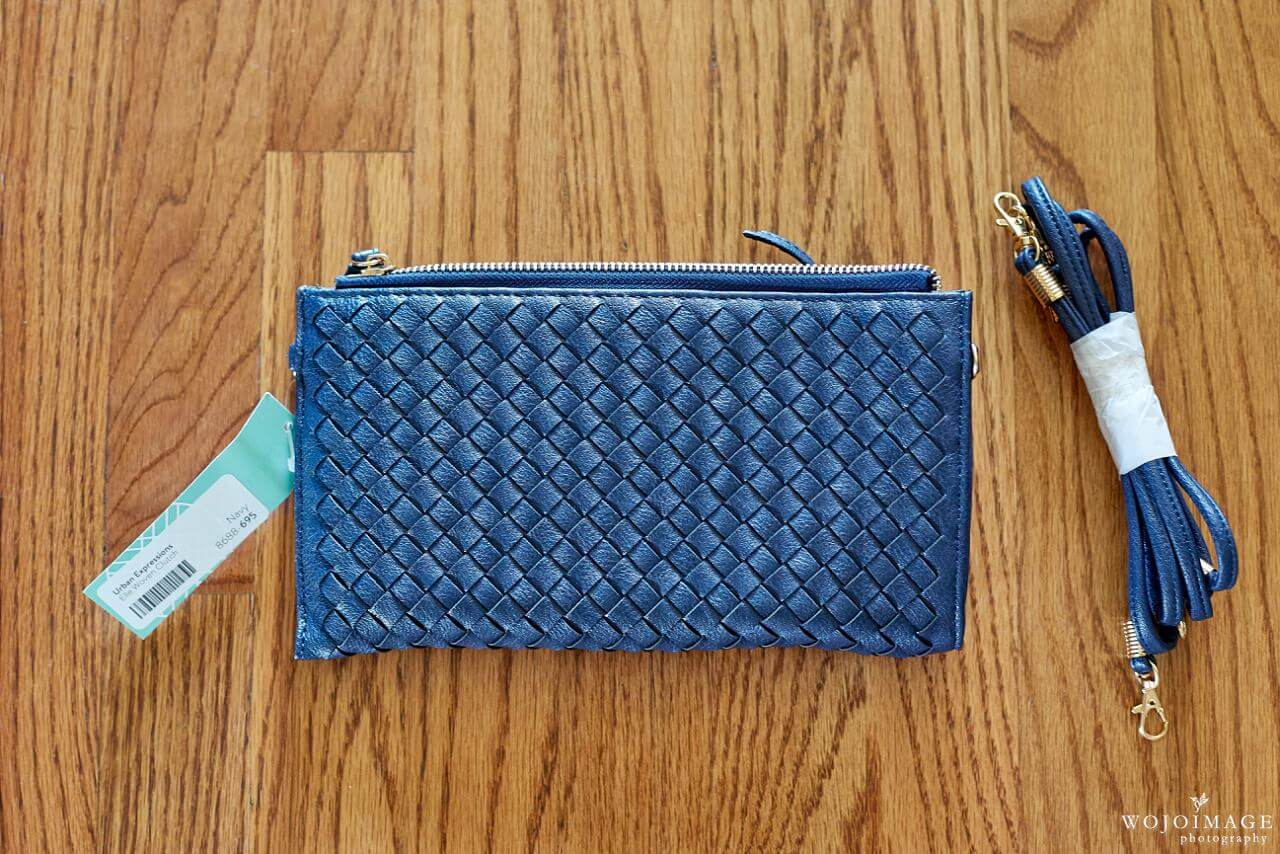 Urban Expressions Elle Woven Clutch