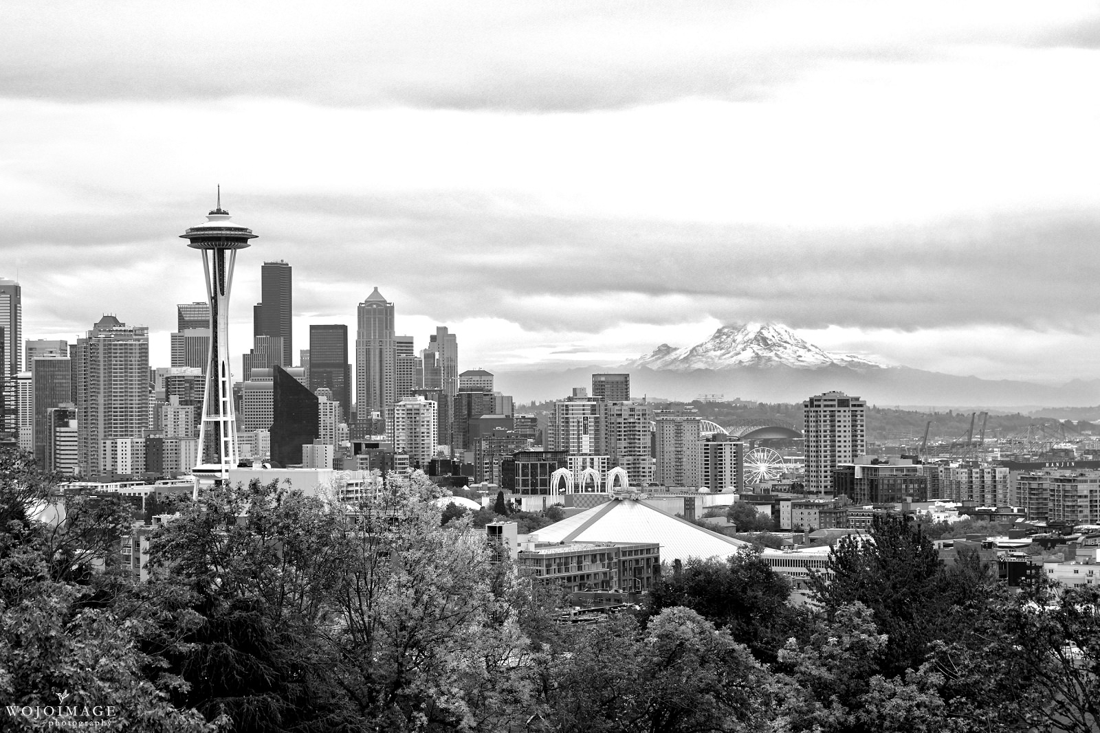 View of Seattle From Kerry Park