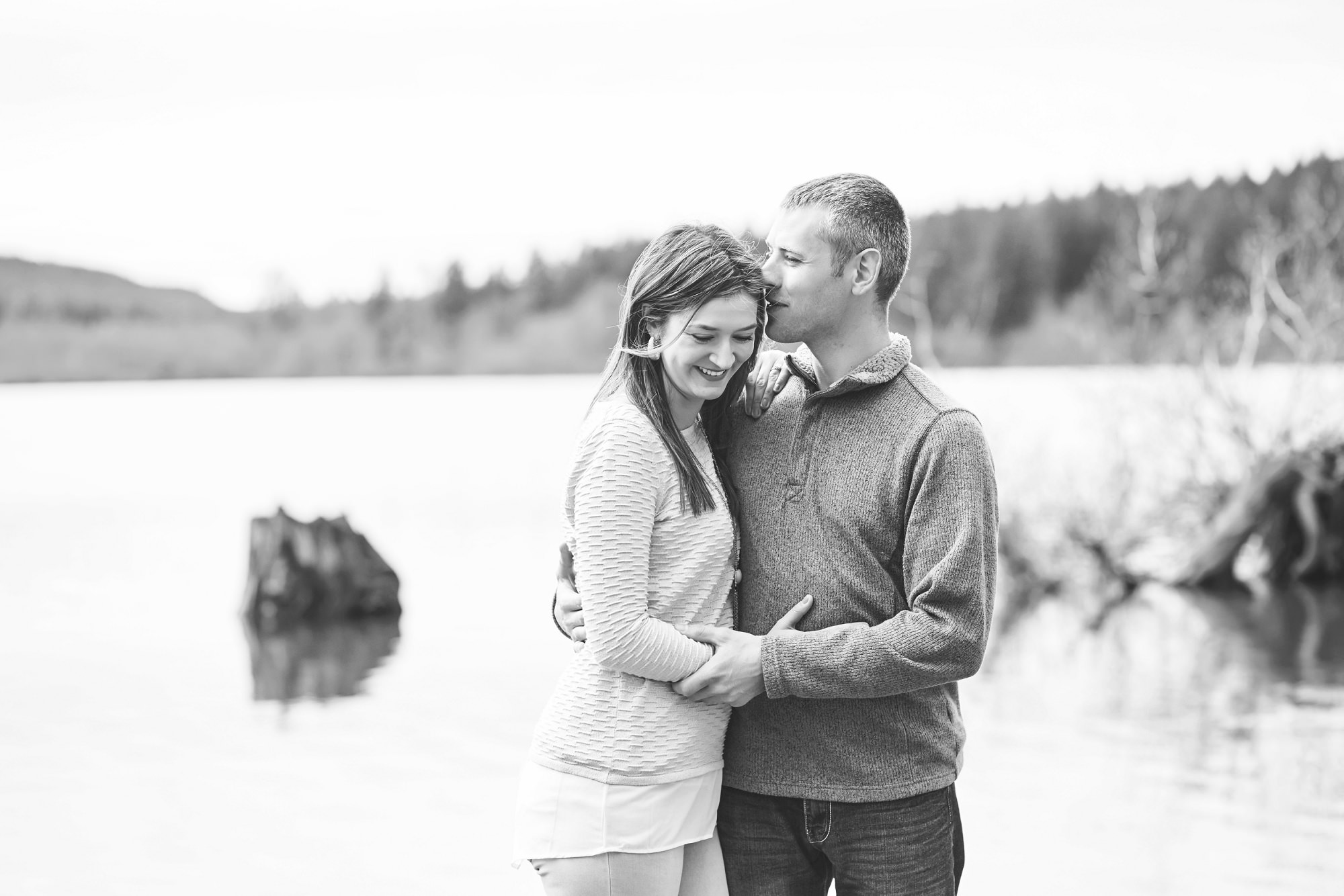 Rattlesnake Ledge Hiking Engagement Session