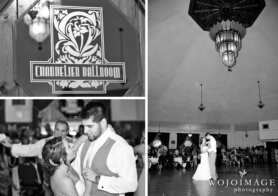 Chandelier Ballroom Wedding