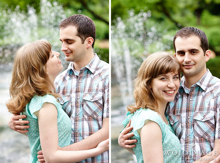 Cantigny Park Illinois Engagement Photos