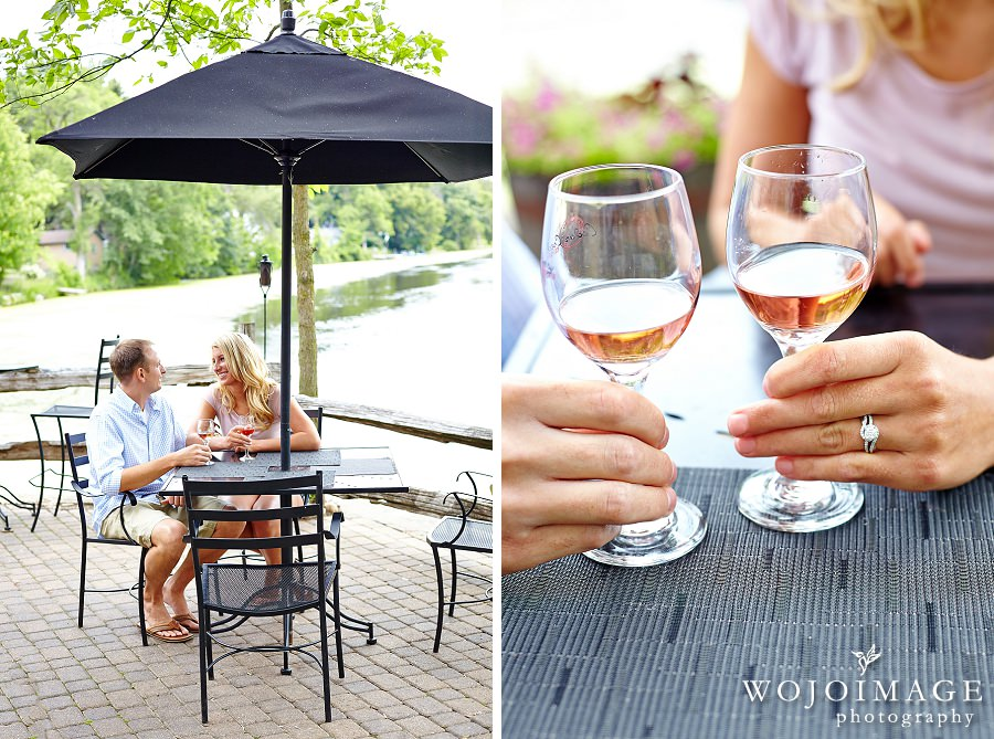 Cedar Creek Winery Engagement Session