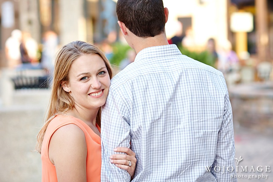 Downtown Wauwatosa Engagement Photos