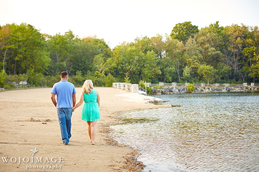 Lannon Quarry Menomonee Park Engagement Photos