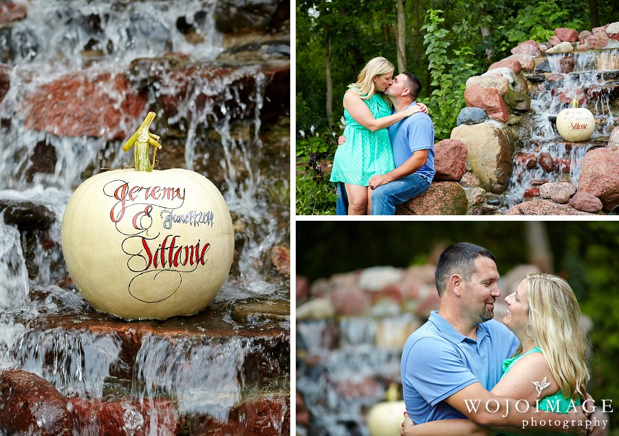 Engagement Session with Pumpkins