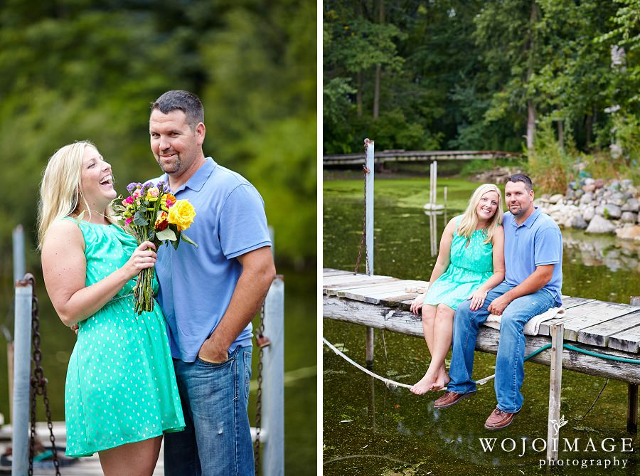 Menomonee Falls Engagement Photos