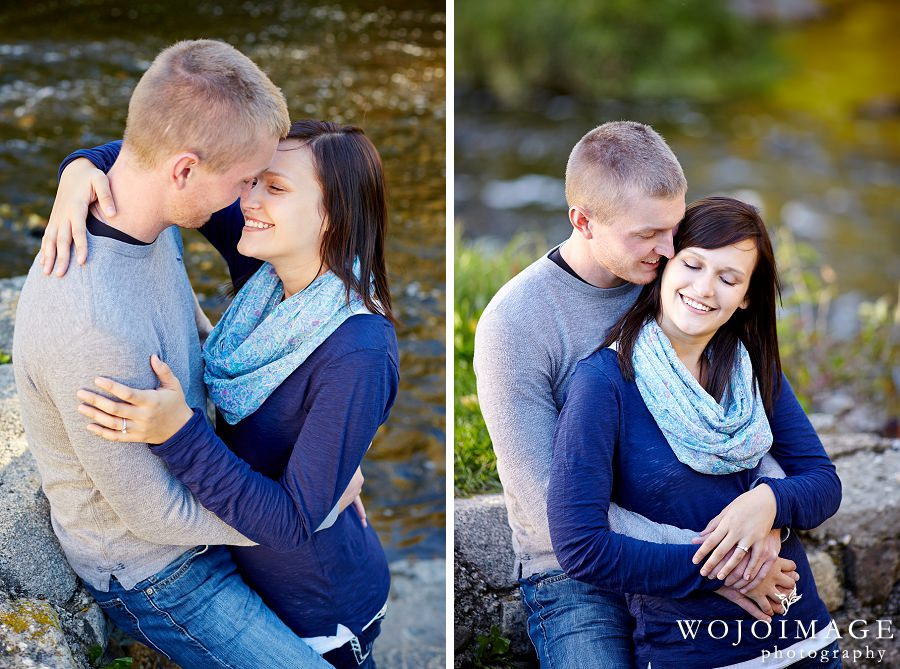 Downtown Cedarburg Engagement Session