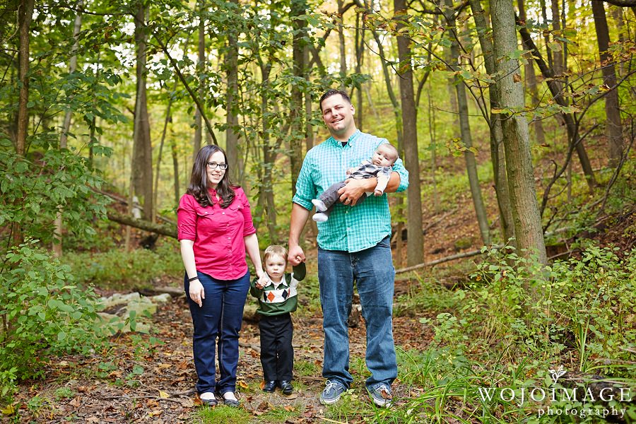 Doctors Park Milwaukee Family Portraits