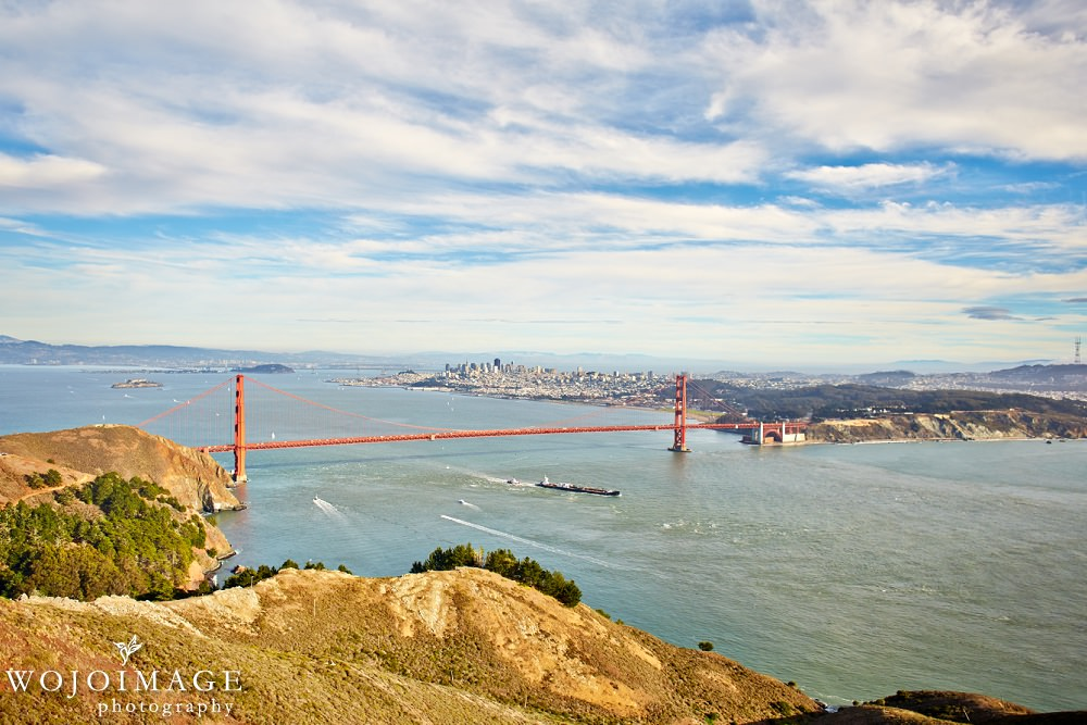 View from Hawk Hill San Francisco