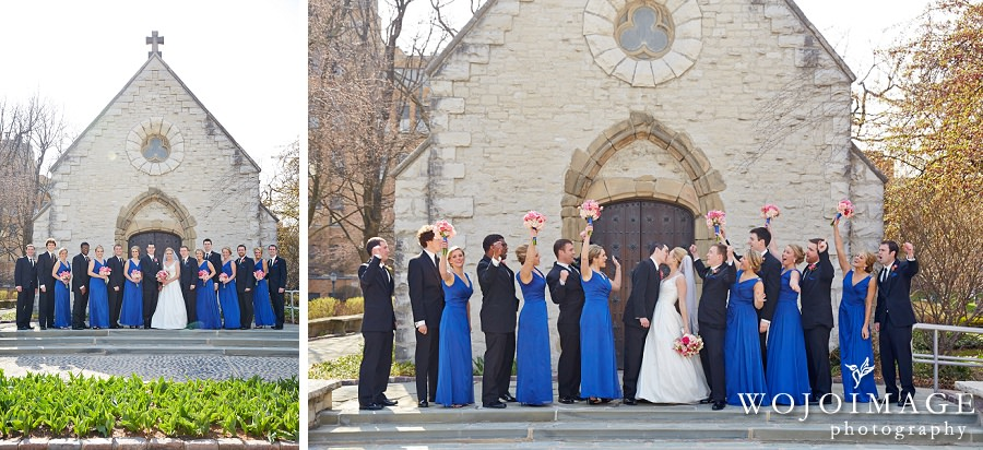 Joan of Arc Chapel Marquette University Wedding Photos