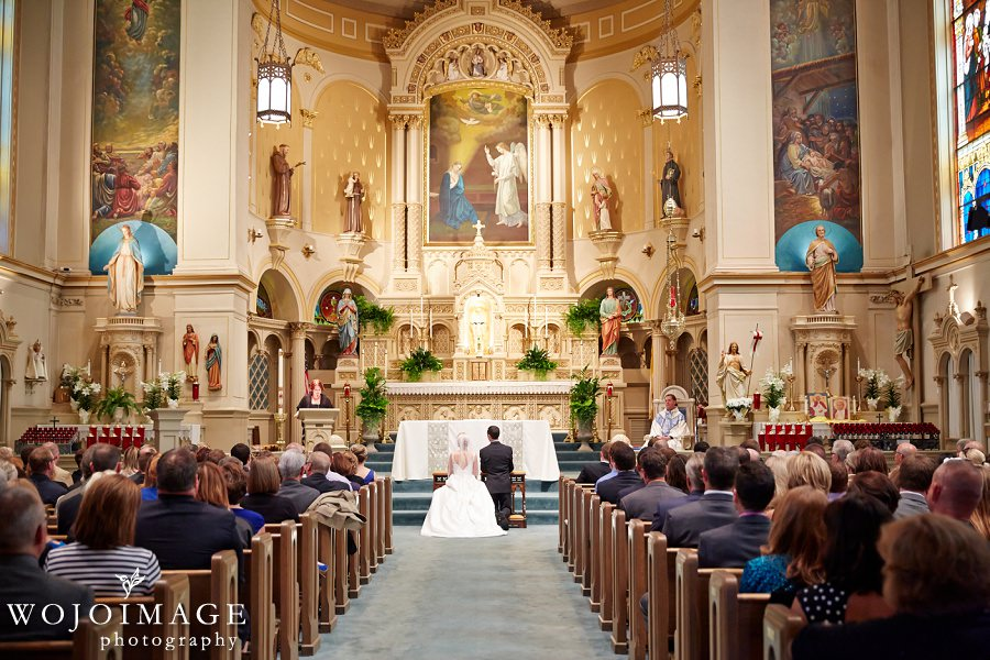 Old St Mary's Parish Milwaukee Wedding