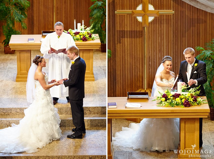St John's Lutheran Church Menomonee Falls Wedding