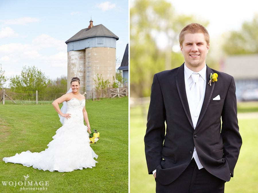 Wisconsin Farm Wedding Photos