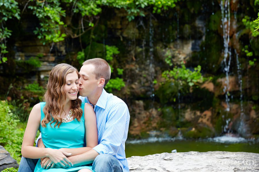 Mara and Wes-Boerner Botanical Gardens Engagement Session
