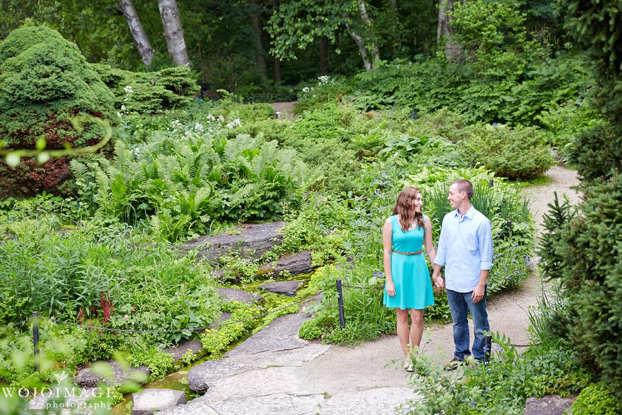 Boerner Botanical Gardens Engagement Photos