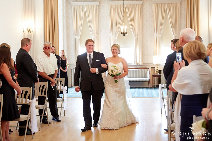Wauwatosa Woman's Club Milwaukee Wedding Ceremony