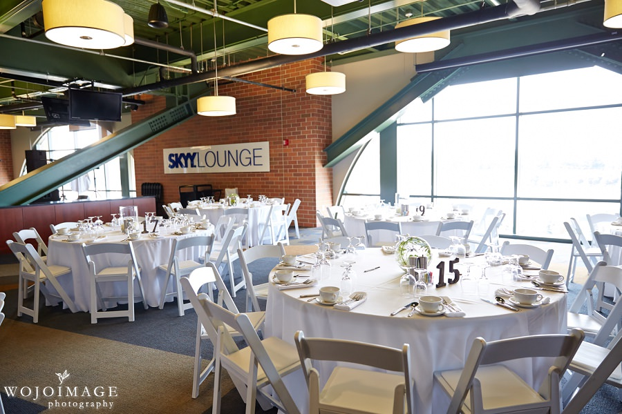 Skyy Lounge in Miller Park Wedding Reception
