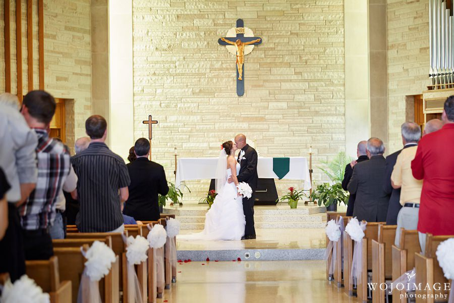 St. Paul Catholic Church Combined Locks Wisconsin Wedding