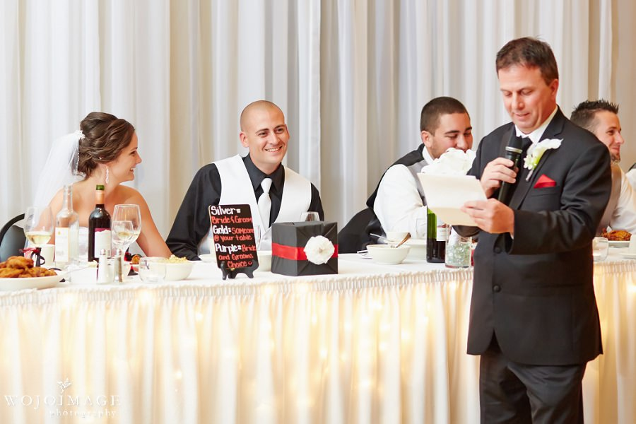 Grand Meridian Appleton Wedding Reception