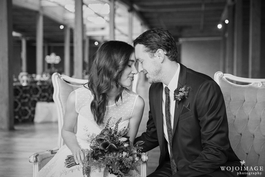 Skyline Loft Intimate Elopement-Editorial Wedding Photo Shoot