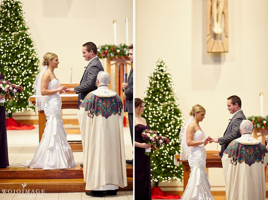 St James Catholic Church Menomonee Falls WI Wedding