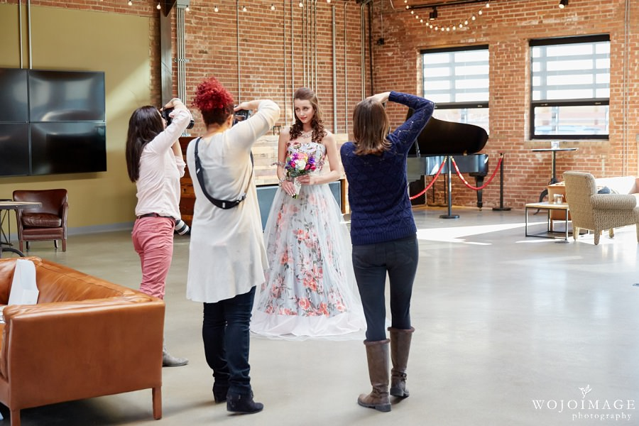 Behind the Scenes Ovation Chicago Wedding Photo Shoot