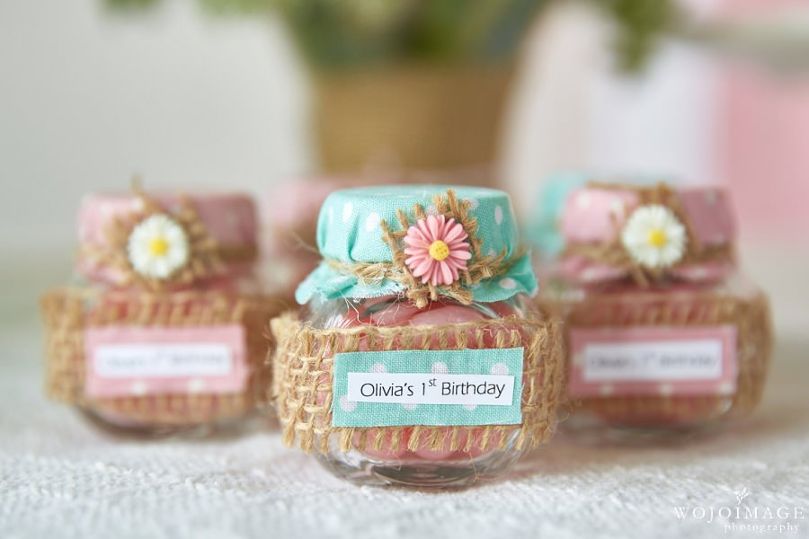 One Year Old Girl Birthday Photos These Party Favors Made By Precious Creations Boutique Were So Adorable Who Wouldnt Want To Take Home