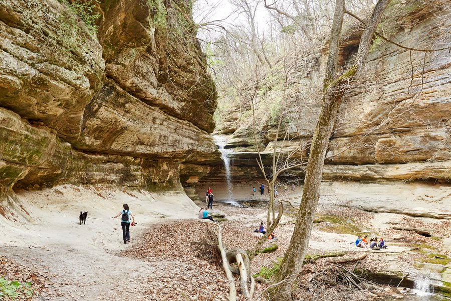 La Salle Canyon Starved Rock