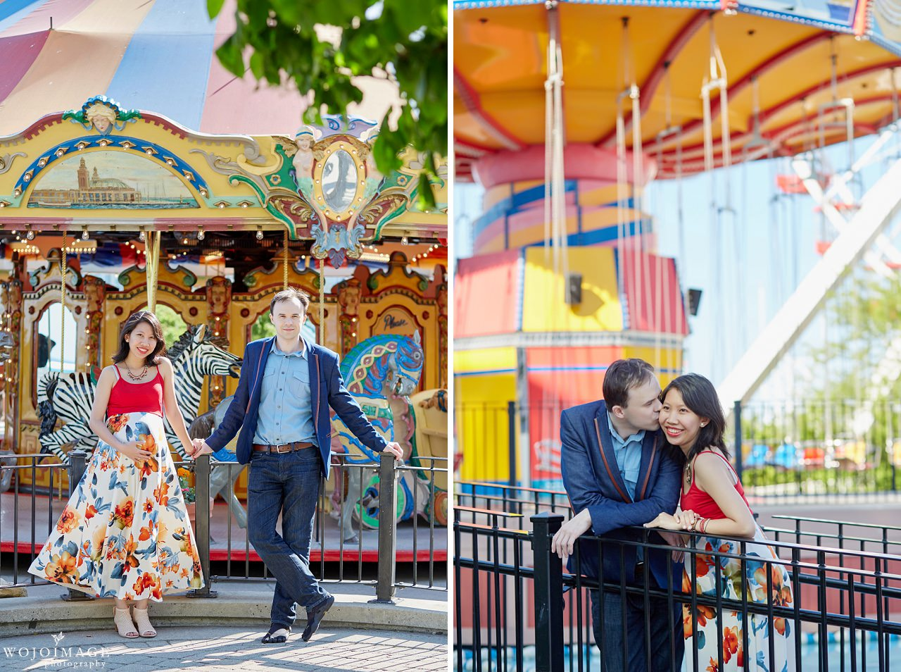 Navy Pier Maternity Session