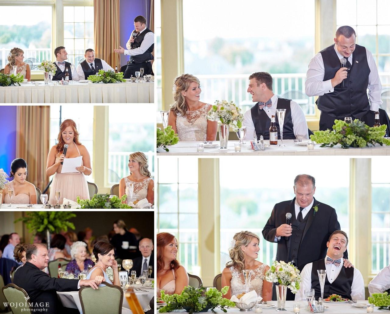 Crystal Tree Golf and Country Club Wedding Reception