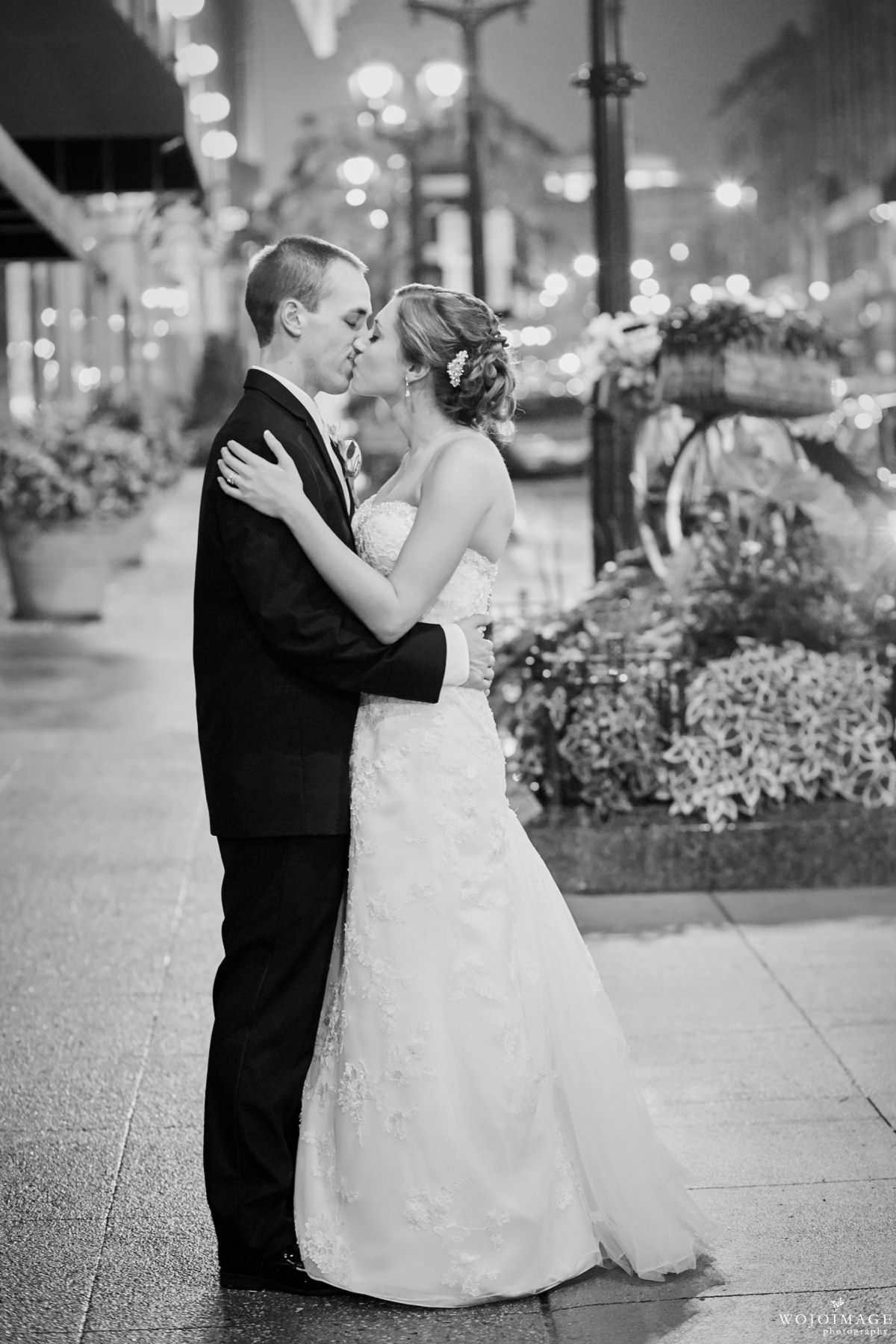 Hilton Milwaukee Wedding Reception