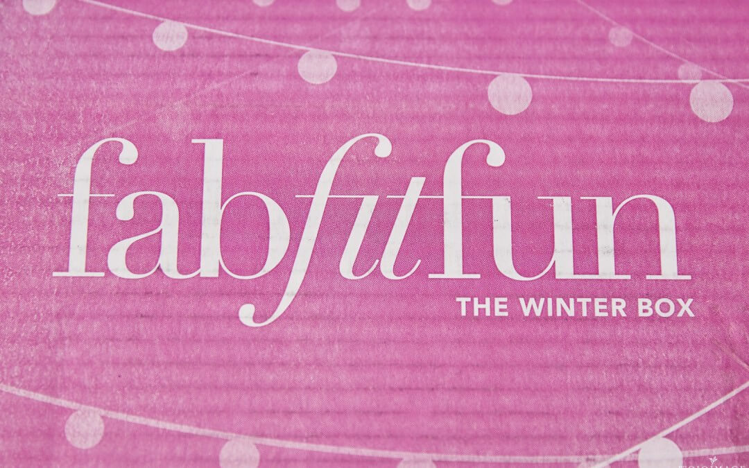 My First FabFitFun Box-Winter Edition