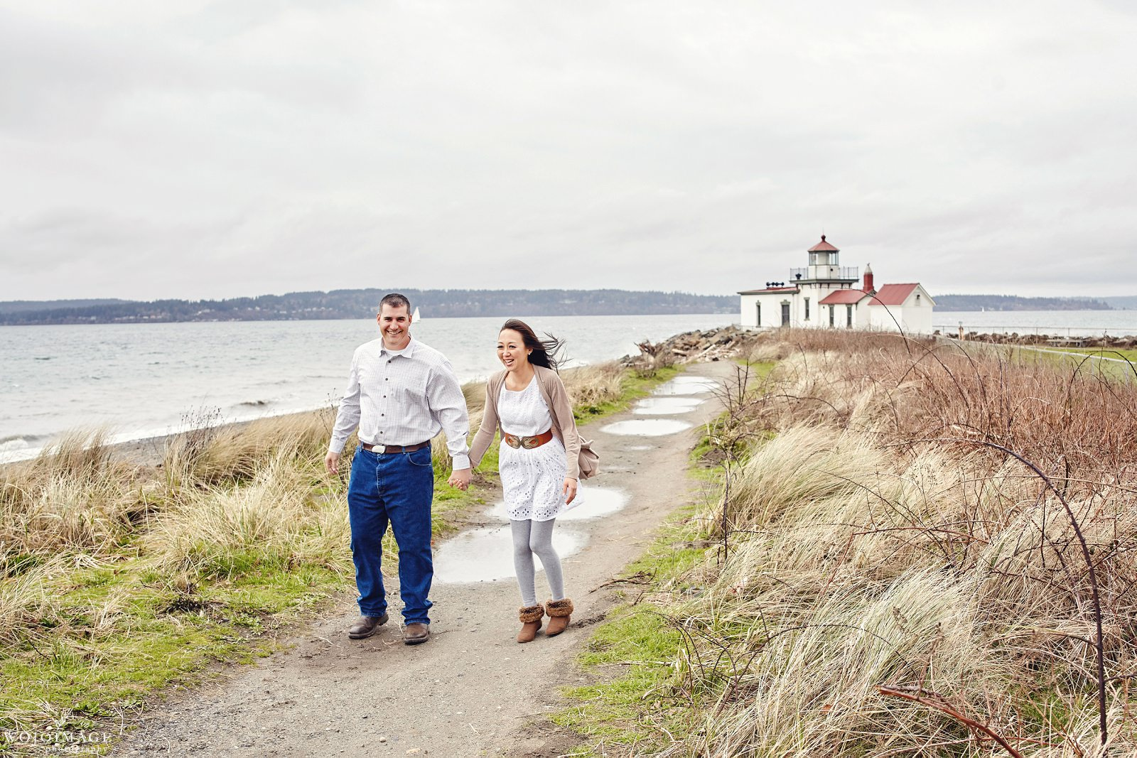 Discovery Park Seattle Engagement Session