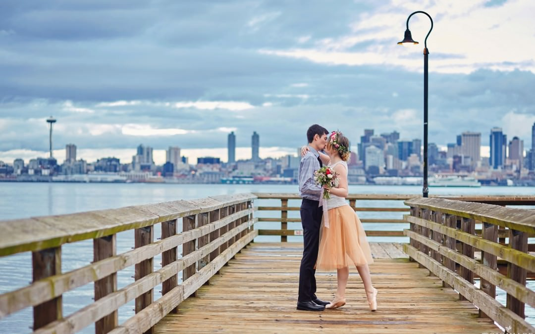 Romantic Seattle Elopement Editorial Photo Shoot