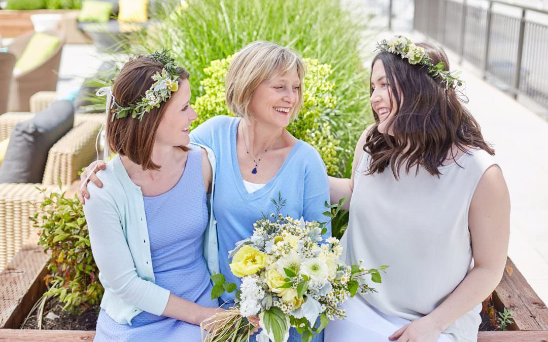 Rooftop Spring Photo Shoot with Verbena Floral-Seattle Lifestyle Photographer