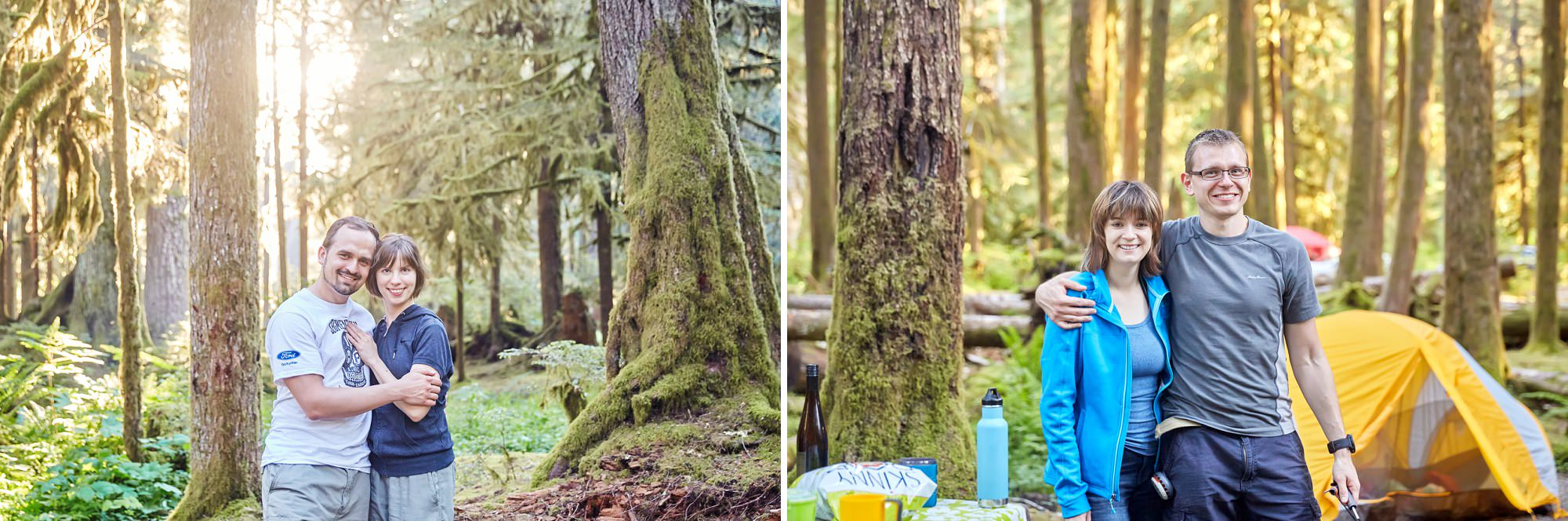 Camping in the Olympic Peninsula