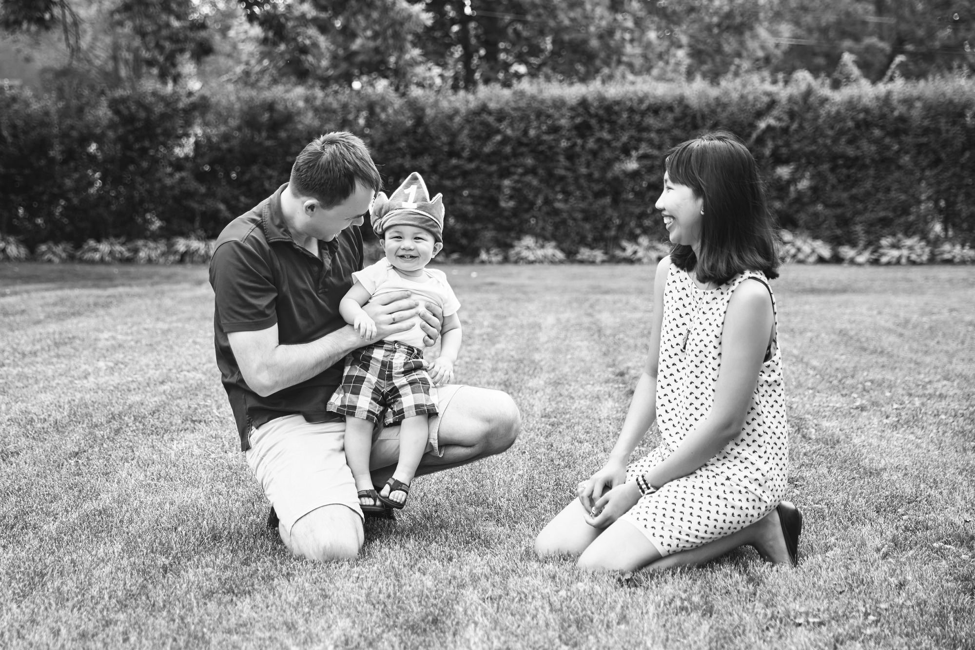 Backyard Seattle Family Session